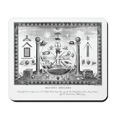 Scottish Freemasonry Mousepad