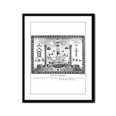 Scottish Freemasonry Framed Panel Print