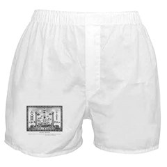 Scottish Freemasonry Boxer Shorts