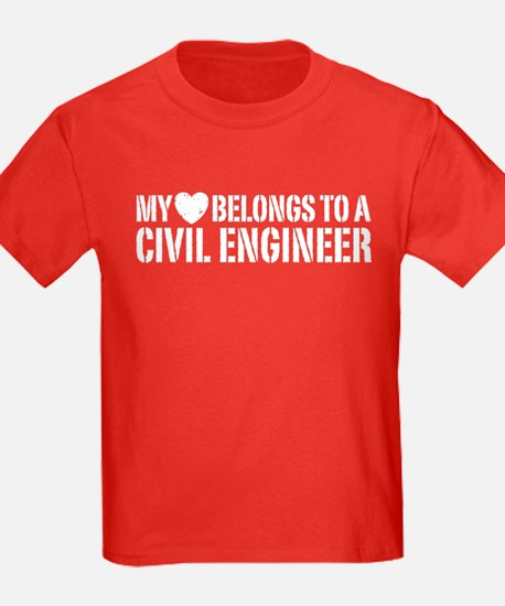 My Heart Belongs to a Civil Engineer T