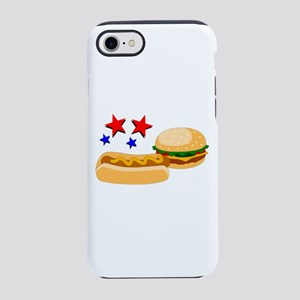 American Hot Dog And Burger Iphone 8/7 Tough Case