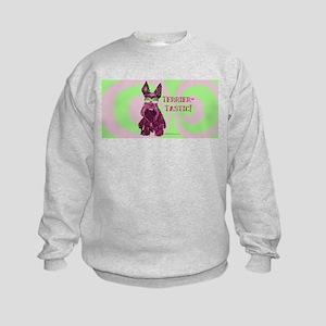 Scottie Terriertastic Dog Kids Sweatshirt