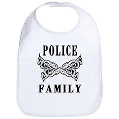 Police Tattoo Bib
