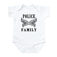 Police Tattoo Infant Bodysuit