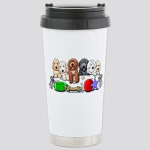 McDoodles Nursery Stainless Steel Travel Mug