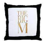 The Big M Throw Pillow