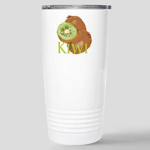 Kiwi Fruits Stainless Steel Travel Mug