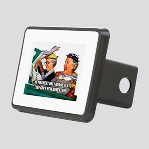 Retirement Adventure Rectangular Hitch Cover
