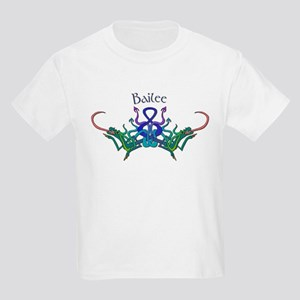 Bailee's Celtic Dragons Name Kids T-Shirt