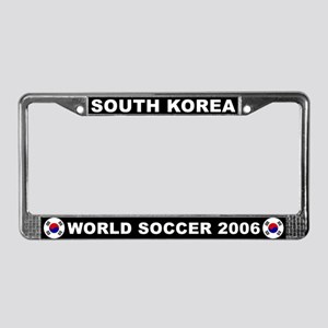 South Korea World Cup License Plate Frame