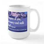 Micah 6:8 Large Mug