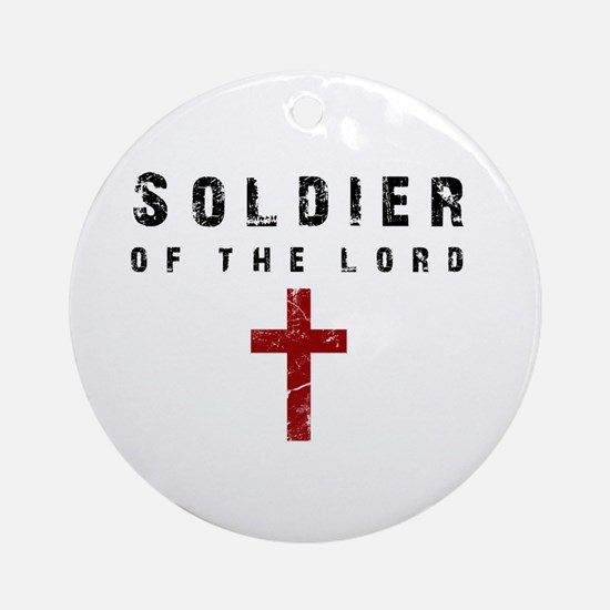 Soldier of the Lord Ornament (Round)