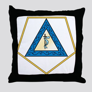 Grand Adah Throw Pillow
