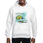Straight But Not Narrow Hooded Sweatshirt