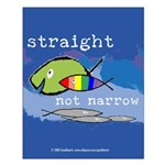 Straight But Not Narrow Small Poster