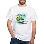 Straight But Not Narrow White T-Shirt