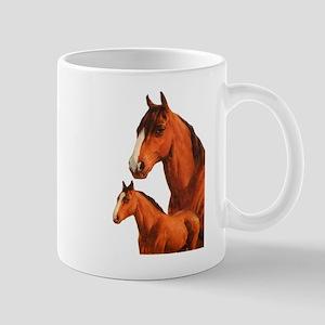 Two horses Mugs