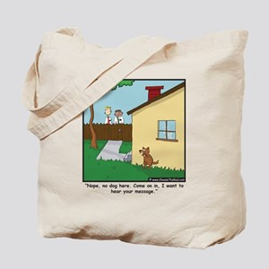 Dog Trap Tote Bag