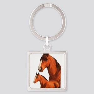 Two horses Keychains