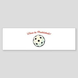 !Viva la Pickleball! Bumper Sticker