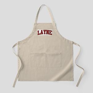LAYNE Design BBQ Apron