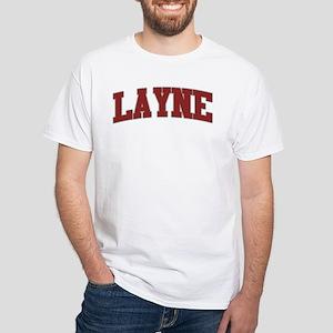 LAYNE Design White T-Shirt