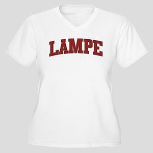 LAMPE Design Women's Plus Size V-Neck T-Shirt