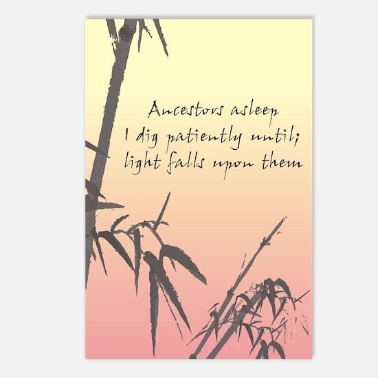 Genealogy Haiku Postcards (Package of 8)
