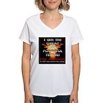 TSG Gear The Wizard of Tech Women's V-Neck T-Shirt