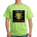 TSG Gear The Wizard of Tech Green T-Shirt