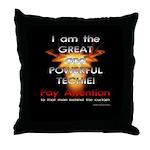 TSG Gear Wizard of Tech Throw Pillow