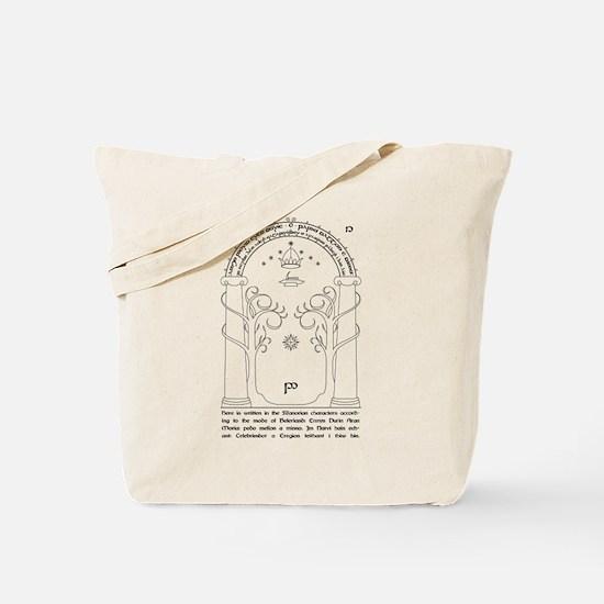 Moria Entrance Tote Bag