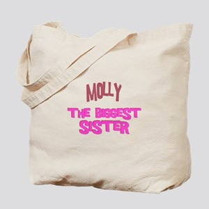 Molly - The Biggest Sister Tote Bag