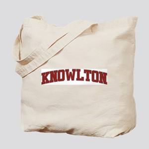 KNOWLTON Design Tote Bag