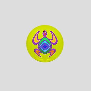 Turtle Symmetry Color Mini Button
