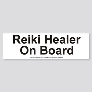 Reiki Healer on Board Bumper Sticker