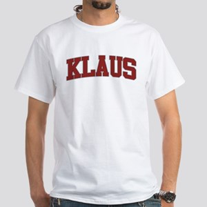 KLAUS Design White T-Shirt