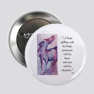 Horse Character with Saying Button