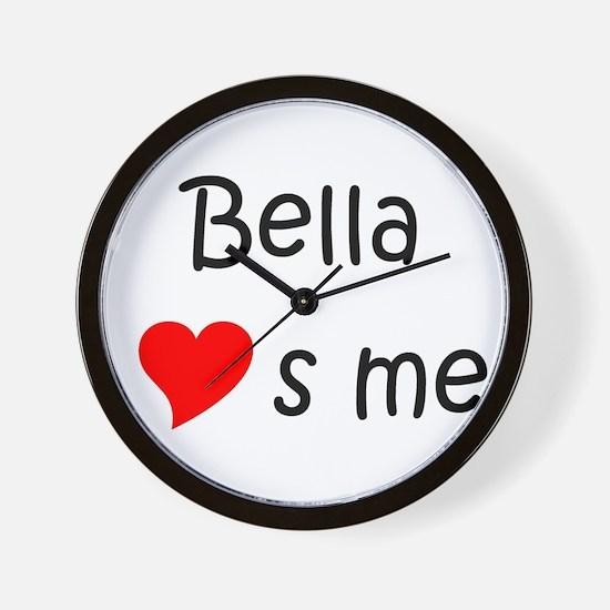 Cute Bella Wall Clock
