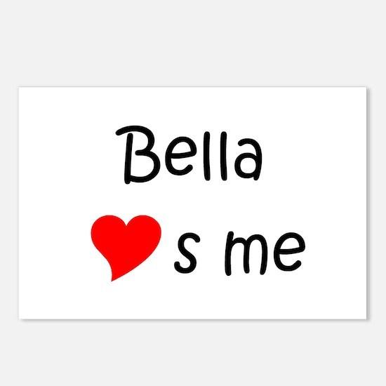 Cute Bella Postcards (Package of 8)