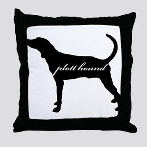 Plott Hound DESIGN Throw Pillow