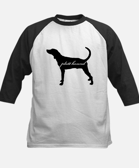 Plott Hound DESIGN Kids Baseball Jersey