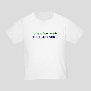 Koy's Logo + TURN LEFT NOW! Toddler T-Shirt