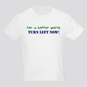 Koy's Logo + TURN LEFT NOW! Kids T-Shirt