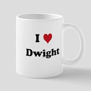 I love Dwight Mug