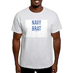 Navy Brat - Ash Grey T-Shirt