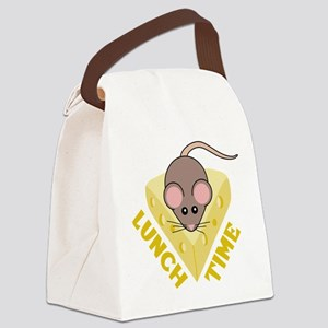 Lunch Time Canvas Lunch Bag