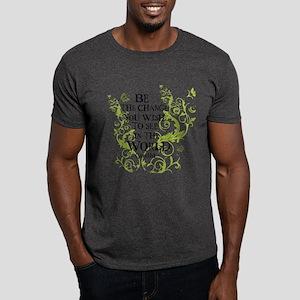 Gandhi Vine - Change - Green Dark T-Shirt