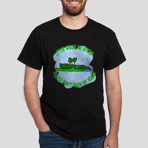 Bitter Litter gator Dark T-Shirt