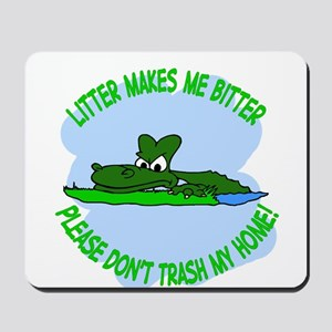 Bitter Litter gator Mousepad
